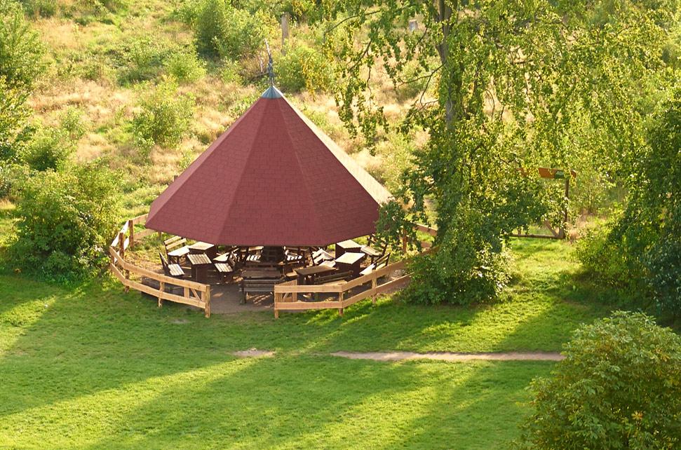 Grillplatz im ErlebnisWald Trappenkamp