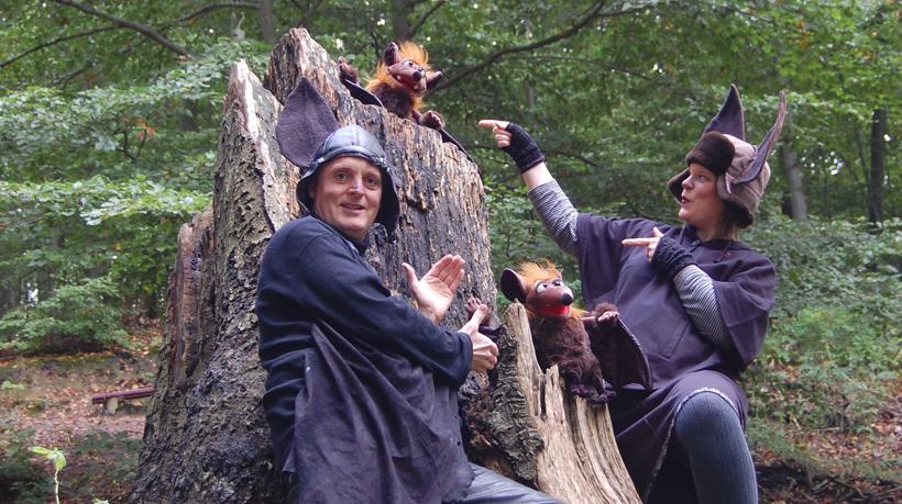 Waldtheater im ErlebnisWald Trappenkamp