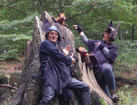 Waldtheater mit Flattertom und Flederlilly