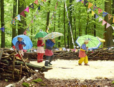 Abenteuer im Wald