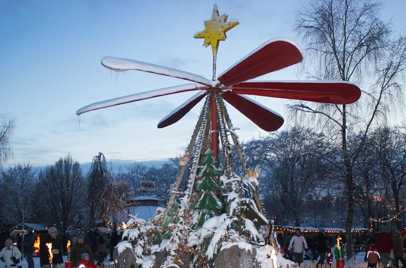 Weihnachtliche Geschichten am Lagerfeuer