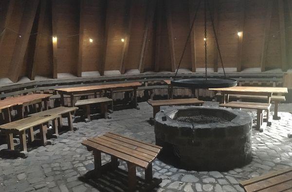 Grillvergnügen in der Köhlerhütte