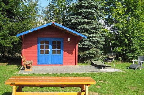 Grillhütte im ErlebnisWald Trappenkamp