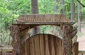 Eingang zum Wichtelwald